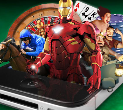 Promotional Graphic: Mobile Casino